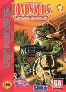 Dinosaurs For Hire - Genesis Game