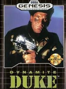 Dynamite Duke - Genesis Game