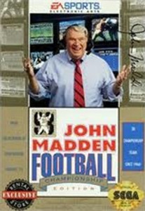 John Madden Football Championship Edition - Genesis Game