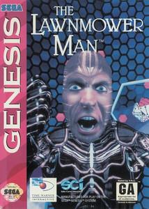 Lawnmower Man, The - Genesis Game