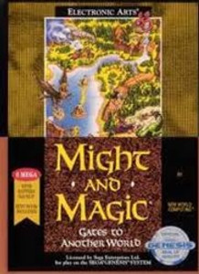 Might and Magic Gates To AnoTher World - Genesis Game.