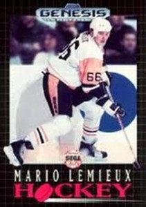 Mario Lemieux NHL Hockey - Genesis Game.