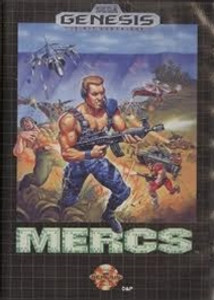Mercs - Genesis Game
