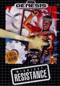 Midnight Resistance - Genesis Game.