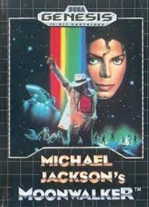 Michael Jackson's Moonwalker - Genesis Game
