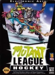 Mutant League Hockey - Genesis Game