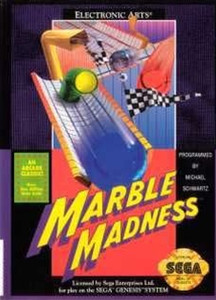 Marble Madness - Genesis Game.