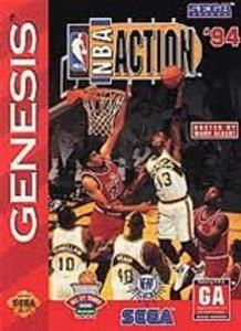 NBA Action '94 - Genesis Game