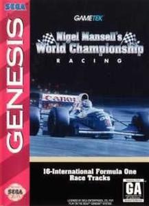 Nigel Mansell's World Championship Racing - Genesis Game