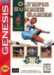 Olympicsummer Games - Genesis Game