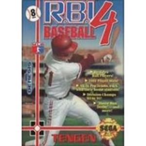 R.B.I. Baseball 4 - Genesis Game