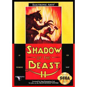 Shadow Of The Beast II (2) - Genesis Game