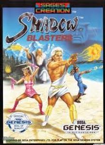 Shadow Blasters - Genesis Game