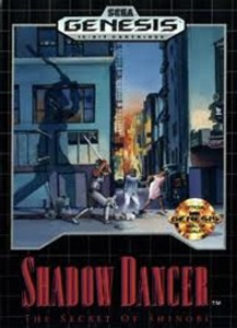 Shadow Dancer The Secret of Shinobi - Genesis Game