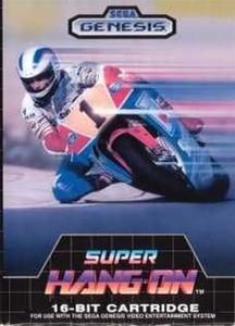 Super Hang On - Genesis Game