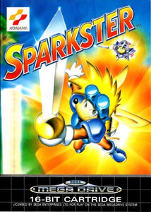 Sparkster - Genesis Game