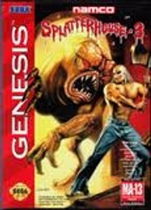 Splatterhouse 3 - Genesis Game