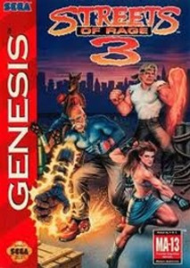 Streets of Rage 3 - Genesis Game