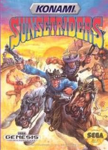 Sunset Riders - Genesis Game