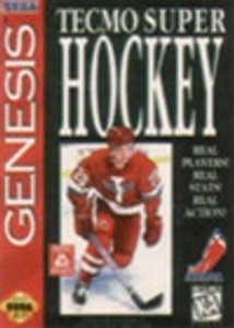 Tecmo Super Hockey - Genesis Game