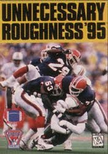 Unnecessary Roughness '95 - Genesis Game