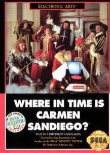 Where In Time Is Carmen Sandiego? - Genesis Game