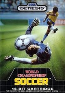 World Championship Soccer - Genesis Game