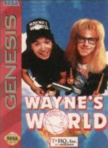 Wayne's World - Genesis Game