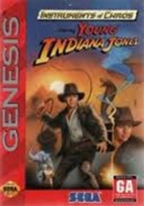 Young Indiana Jones Instruments Of Chaos - Genesis Game