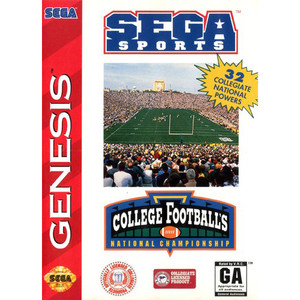 College Football's National Championship - Genesis Game