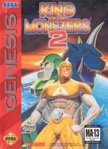 King of the Monsters 2 - Genesis Game