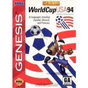 WorldCup USA 94 - Genesis Game