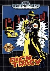 Dick Tracy - Genesis Game