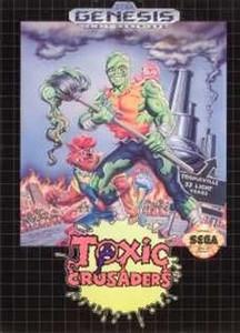 Toxic Crusaders - Genesis Game