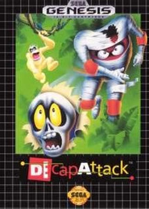 DeCapAttack - Genesis Game