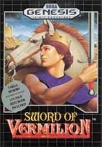 Sword of Vermilion - Genesis Game