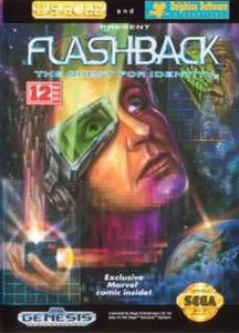 Flashback The Quest for Identity - Genesis Game