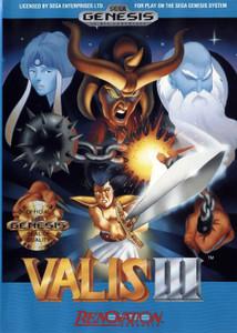 Valis III - Genesis Game