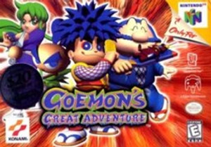 Goemon's Great Adventure - N64 Game