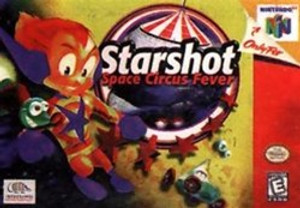 Starshot Space Circus Fever - N64 Game