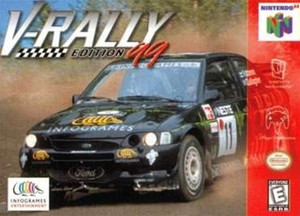 V-Rally Edition 99 - N64 Game