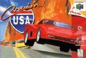 Cruis'n USA Nintendo 64 N64 video game box art image pic