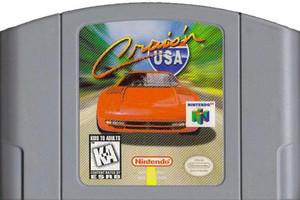 Cruis'n USA Nintendo 64 N64 video game cartridge image pic