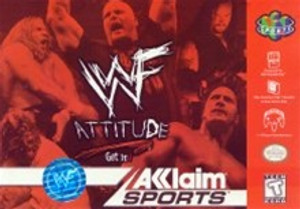 WWF Attitude - N64 Game