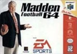 Madden Football 64 - N64 Game