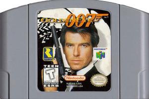 Goldeneye 007 James Bond Nintendo 64 N64 game cartridge image pic