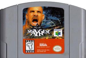 WCW Mayhem - N64 Game
