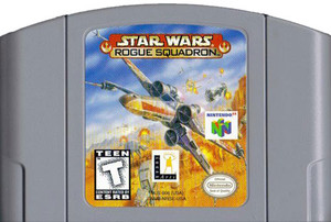 Star Wars Rogue Squadron Nintendo 64 N64 video game cartridge image pic