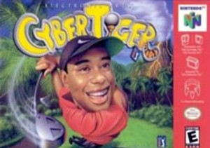 Cyber Tiger Woods Golf - N64 Game