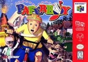 PaperBoy - N64 Game